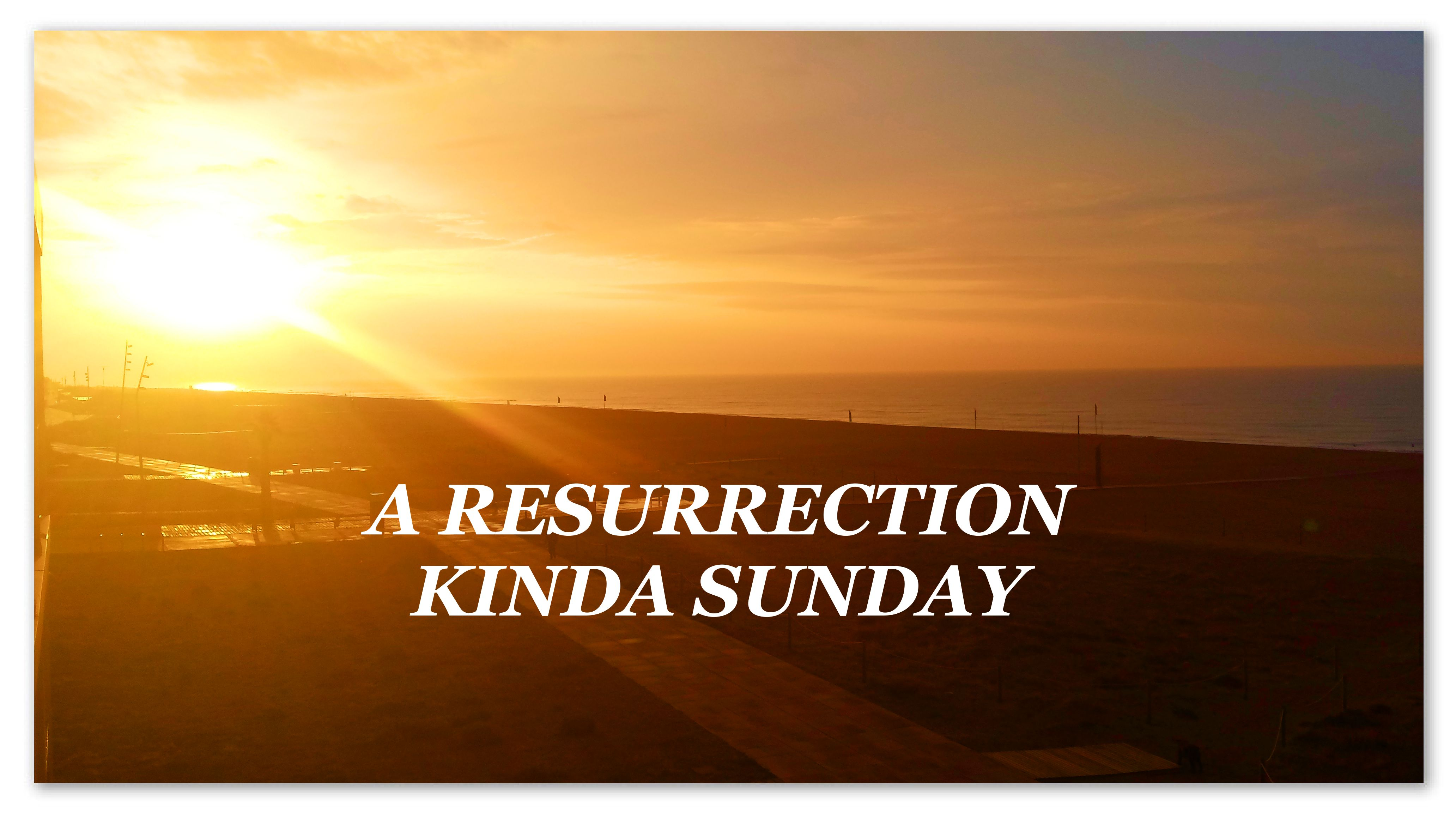 A Resurrection Kinda Sunday A New Cycle Of Life Light And Love Is